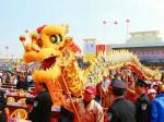 dragon chinois fête