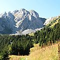 Crete du mont charvet en boucle par le col de la grande pierre