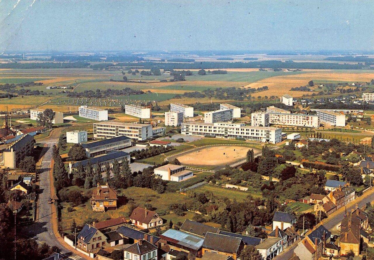 Verneuil-sur-Avre, les quartiers Est