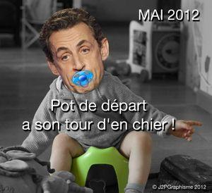 Le pot de départ de Sarkozy