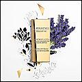 Lavandes trianon - eau de parfum - les parfums grands crus - maison lancôme