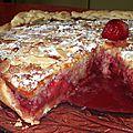Milanaise aux fraises