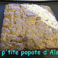 Brownie chocolat/noisettes/amandes/abricot thermomix