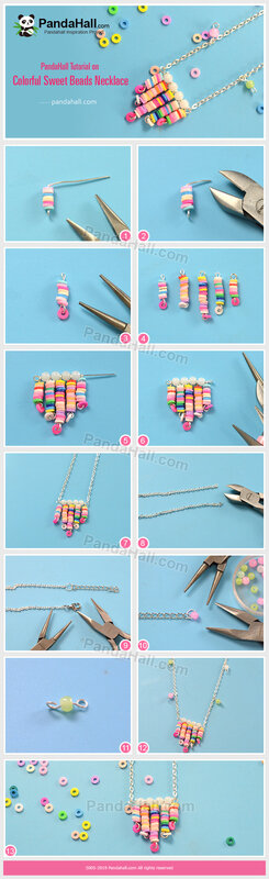 5-PandaHall-Tutorial-on-Colorful-Sweet-Beads-Necklace