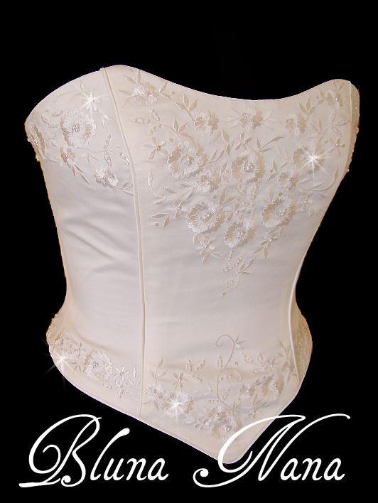 4a8b82b0e bustier corset mariage