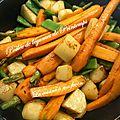 Poêlée de légumes printaniers