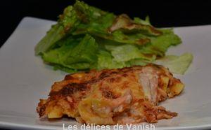 lasagnes faciles - sandy miam miam - saumon fumé - recette