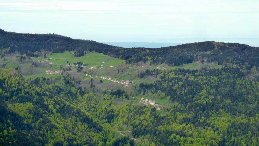 Le plateau de La Ruchère