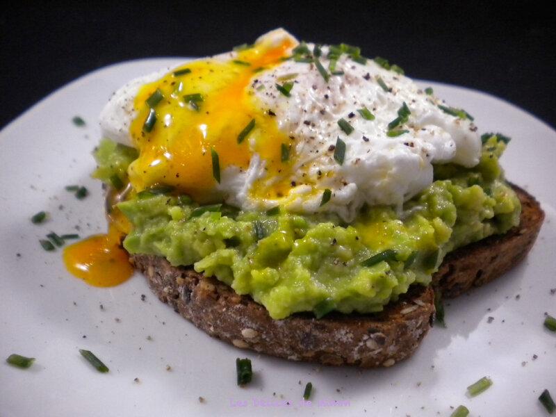Avocado toast à l'œuf poché 5