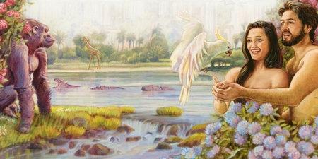 Adam & Ève-Création-L'Eden