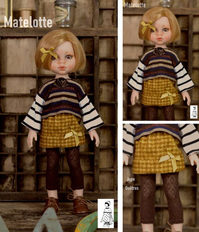 Matelotte composition Amigas