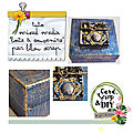 Cs&diy le jeu de l'été: lilouscrap tuto mixed media