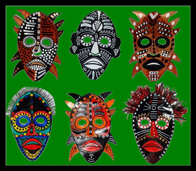 354-MASQUES-Masques africains (130e)