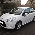 ........CITROEN C3 VITAMINE BLANC 1.4 ESSENCE VENDU 6500KMS