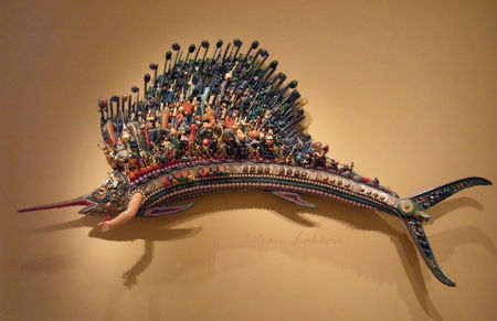 Renwick_gallery_Larry_Fuente_Game_fish