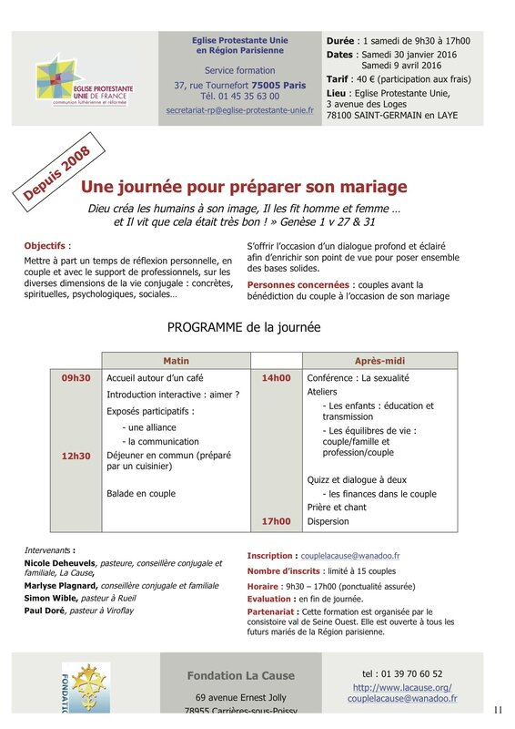 Formations EPU-RP 2015-2016-mariage
