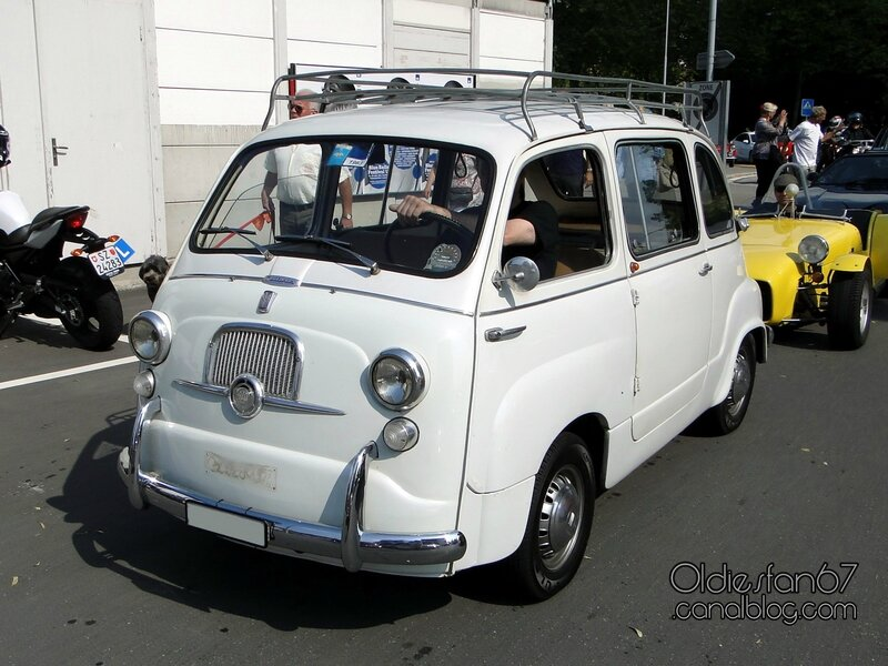 fiat 600 multipla 1956 1965 oldiesfan67 mon blog auto. Black Bedroom Furniture Sets. Home Design Ideas