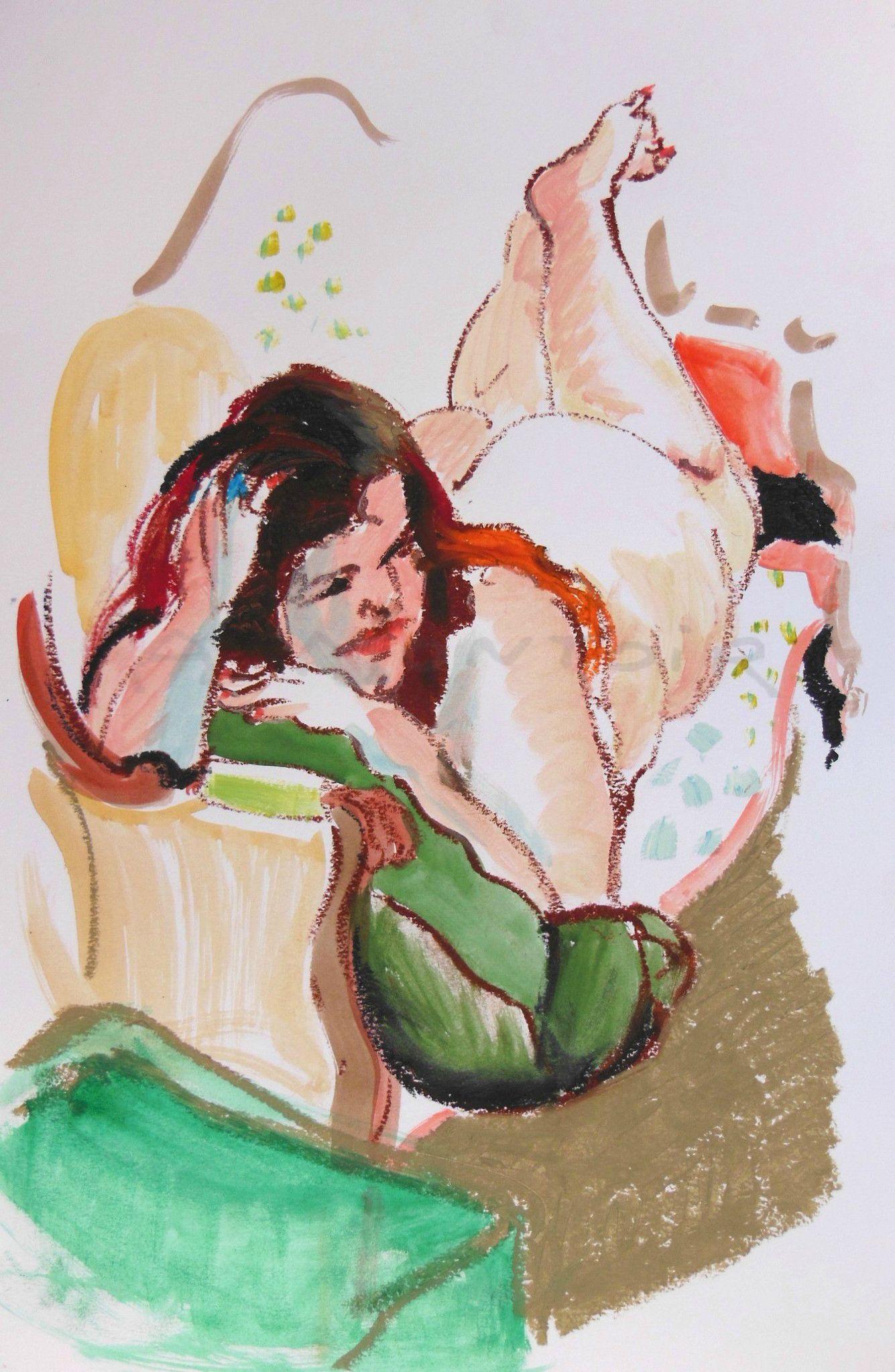 la peinture de nus féminins