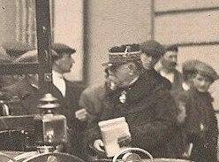 1913 04 23 Belfort CPhoto Visite Etienne Ministre guerre RR2