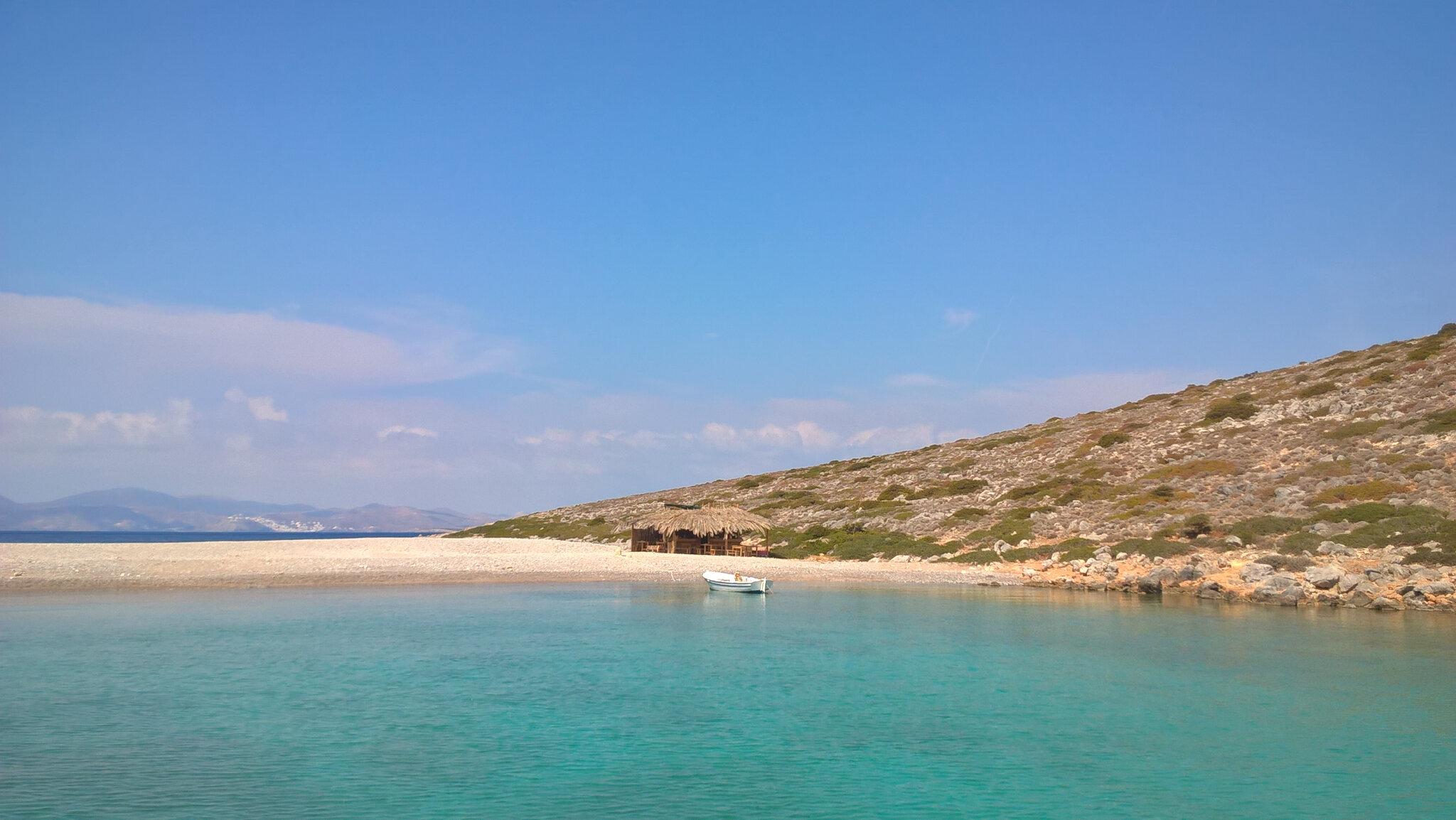 Astypalea et La Plage Kounoupa Aux Allures d'Île Déserte