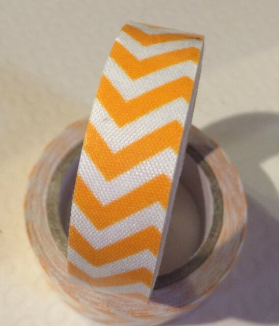 Masking Tape Coton - orange