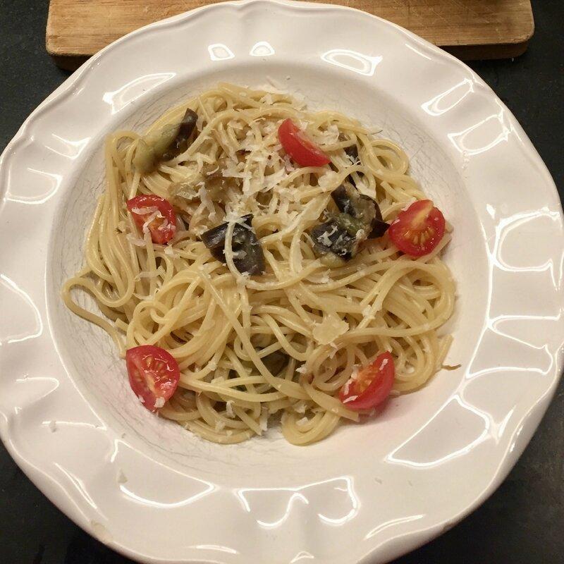Spaghettis tomates cerises 2