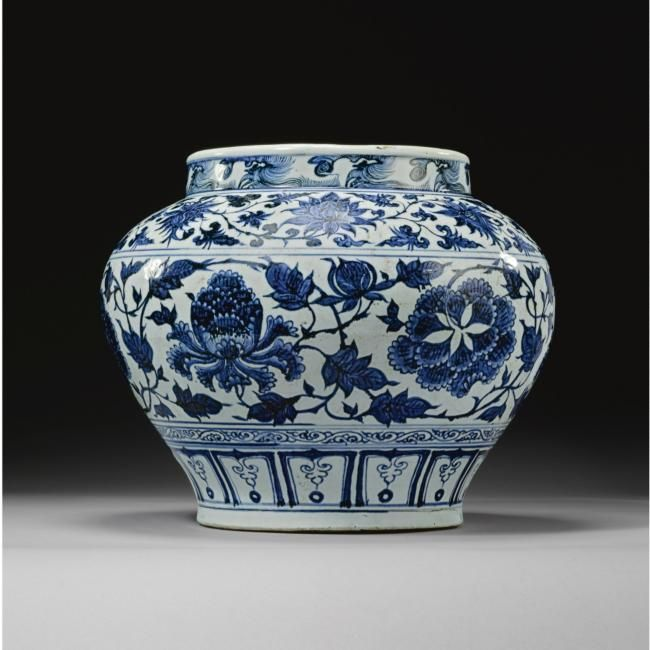 Sotheby S Sells Magnificent Yuan Dynasty Blue And White