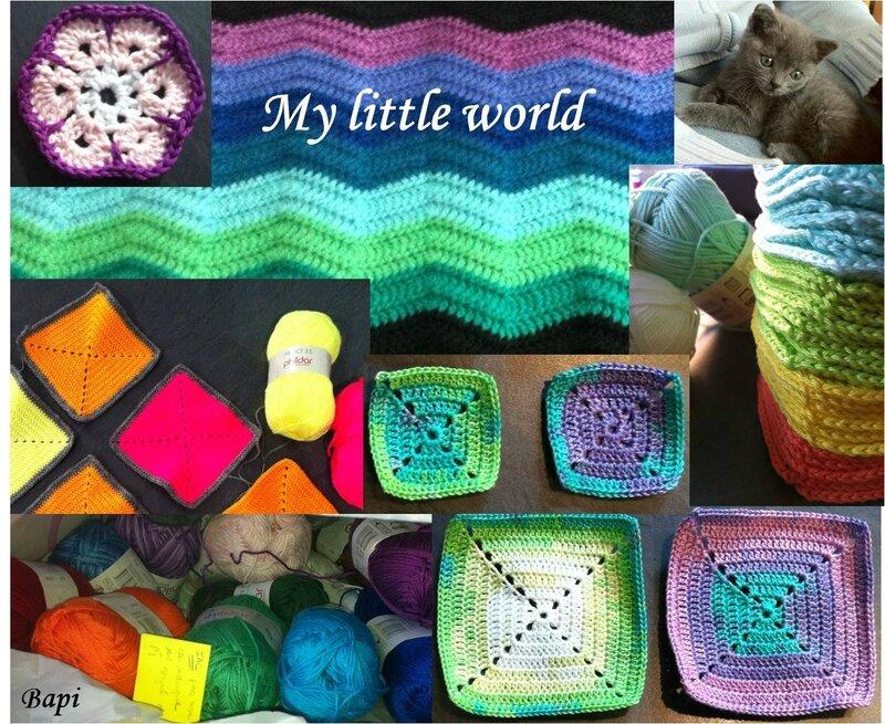 Présentation pele-mele - My little world