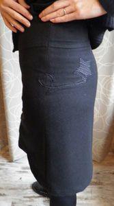 detail dos jupe étoile