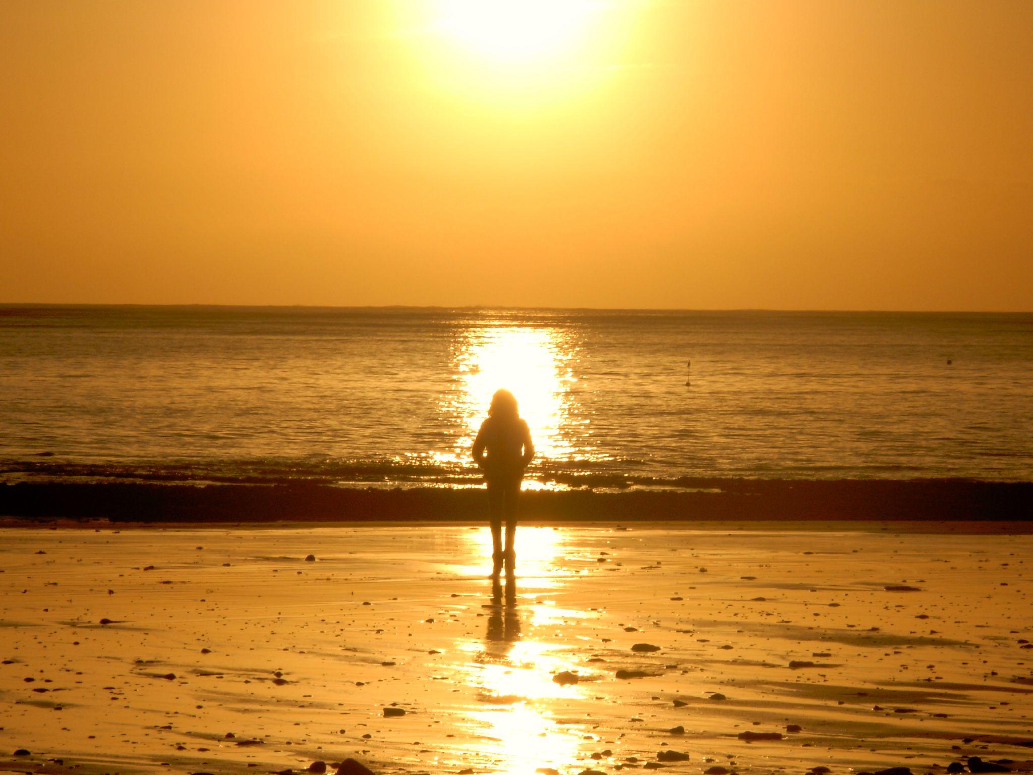 L'île de ré ... Coucher de soleil