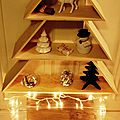 5 décembre...mon beau sapin..en bois!