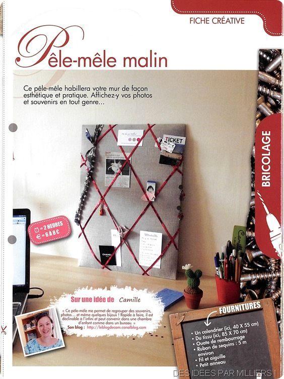 Créative magazine - n°8 - Novembre décembre 2012 - Des Idées Par Milliers - Fiche créative recto