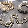 Bracelets perles et collier perles
