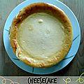 Cheesecake à la vanille & au citron