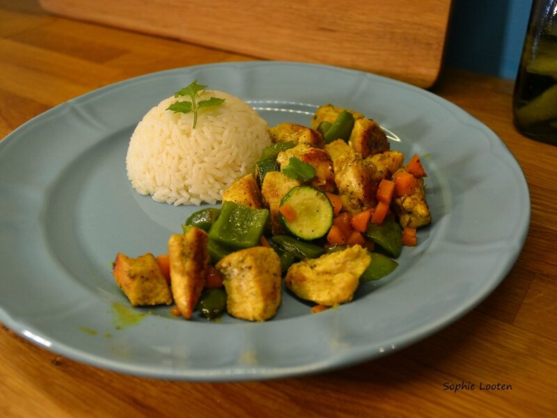 Poulet curry2