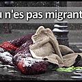 Coup de gueule - tu n'es pas migrant...