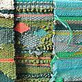 Paysages - tissages, détails.