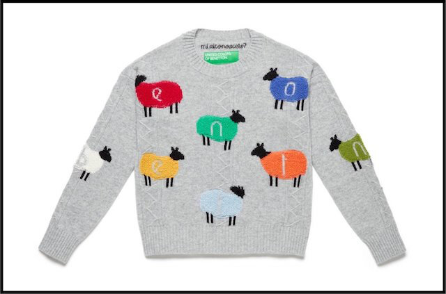 benetton pull moutons 3