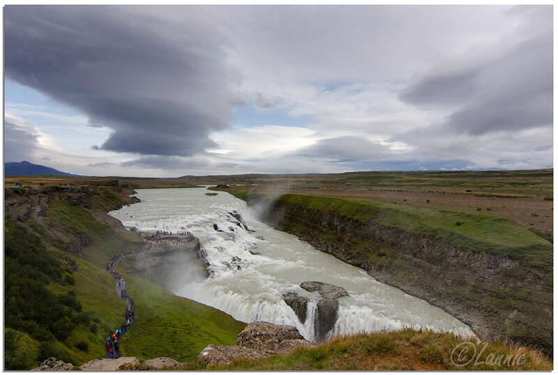 Islande (10) Gullfoss