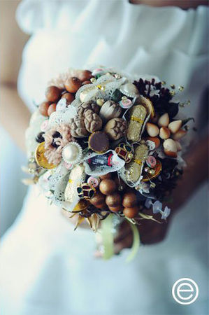 chocolates_and_nuts_wedding_bouquet