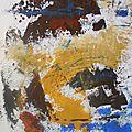 08 - Acrylique sur papier marouflé sur toile - 50 x 65