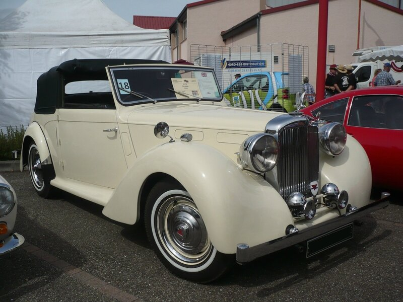 ALVIS TA 14 drophead coupé carrossé par Carbodies 1948 Hambach (1)