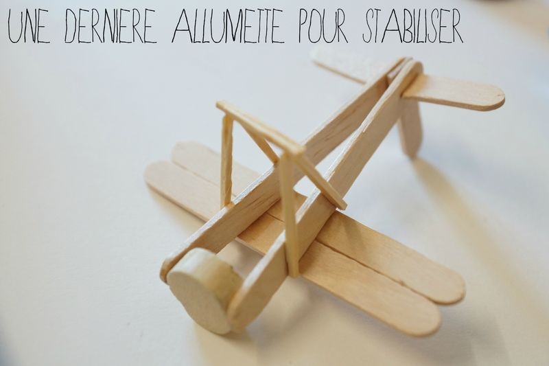 Avion en bois 4