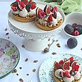 Tartelettes figue pistache pour les 13 ans de mon blog !