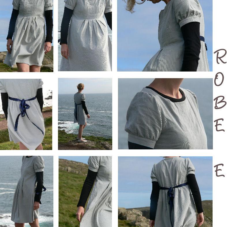 Les petits détails de la robe E