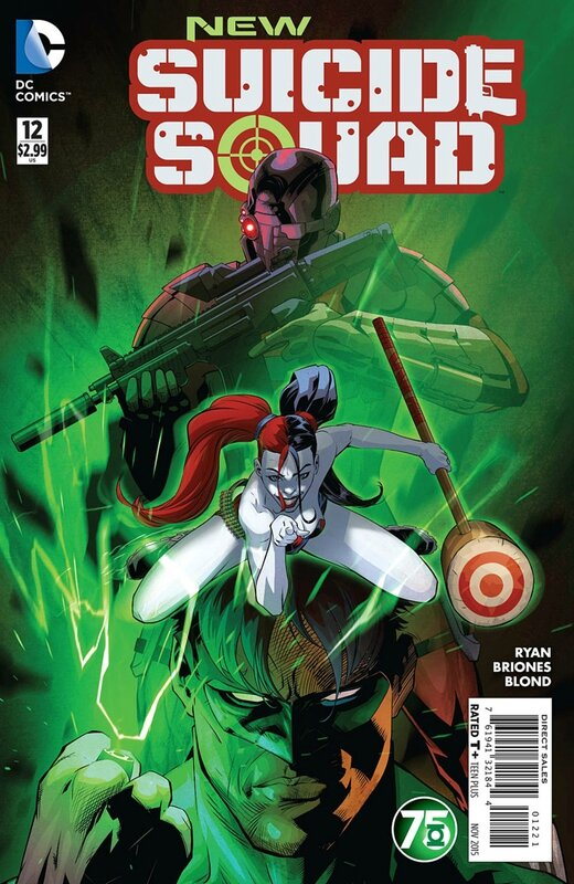 new suicide squad 12 green lantern variant