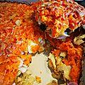 Parmentier de merlu aux carottes