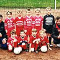 Saison 2000-2001 débutants