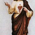 Le saint coeur broyé de jésus