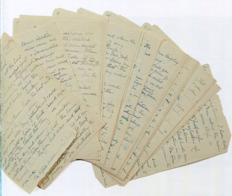 manuscrit Titanic